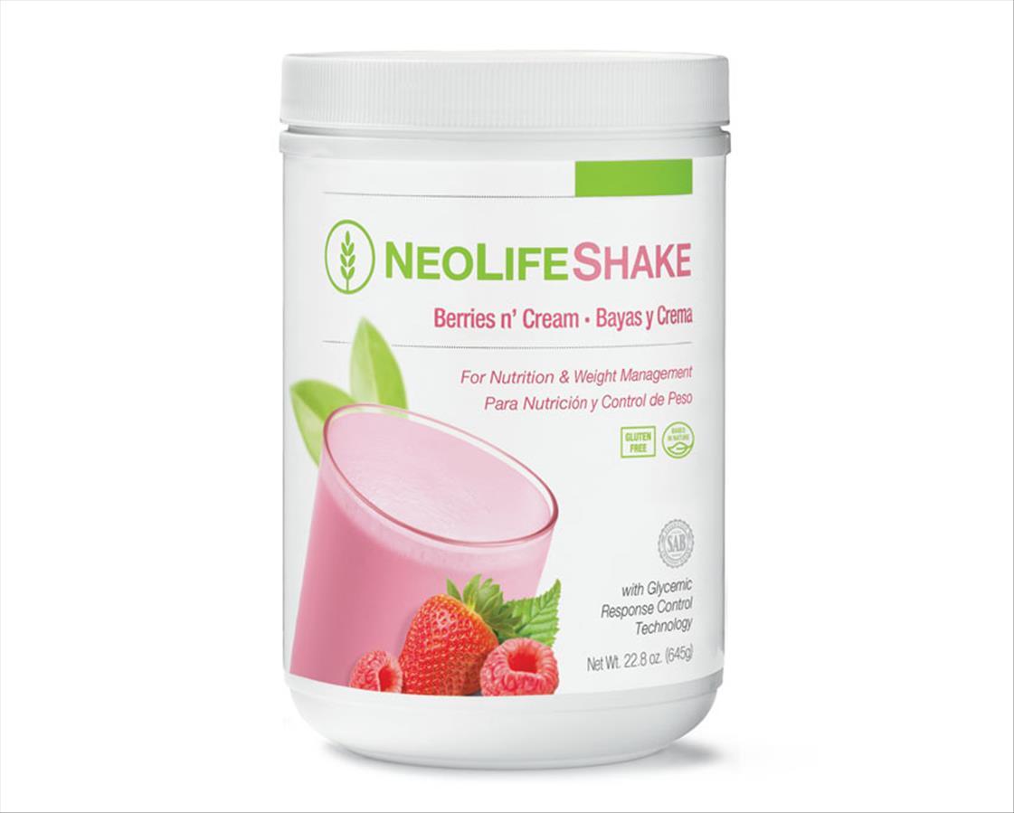 NeoLifeShake-Berries n` Cream